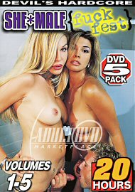 She-Male Fuck Fest Vol. 1-5 (5 DVD Set) (20 Hours) (179368.2)